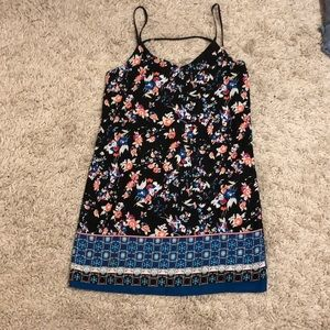 Aqua summer dress size small from Bloomingdales